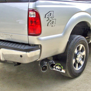 Mud Flaps on Ford F-250 without flares 12